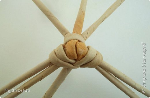 Мастер-класс Поделка изделие Плетение Хорёк и белка Бумага газетная Трубочки бумажные фото 10