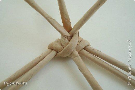 Мастер-класс Поделка изделие Плетение Хорёк и белка Бумага газетная Трубочки бумажные фото 11