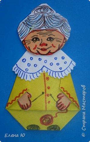 Предлагаю приготовить вместе с детьми такую вот открытку  любимой бабушке на День пожилого человека  фото 24