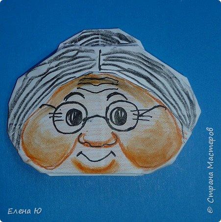 Предлагаю приготовить вместе с детьми такую вот открытку  любимой бабушке на День пожилого человека  фото 22