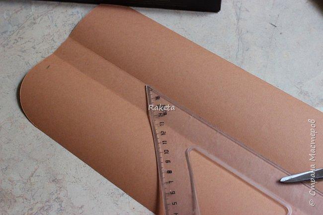 Мастер-класс Упаковка День учителя Начало учебного года Моделирование конструирование Сладкий портфель Бумага Клей Нитки фото 17