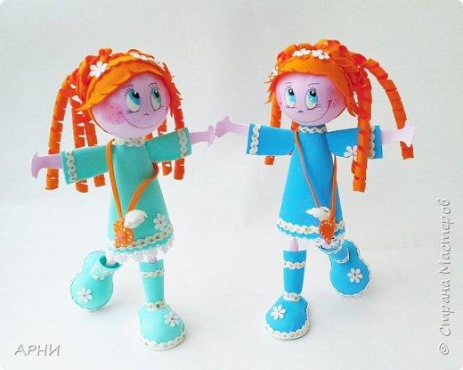 "Куклы "" Рыжее Счастье"" фото 2"