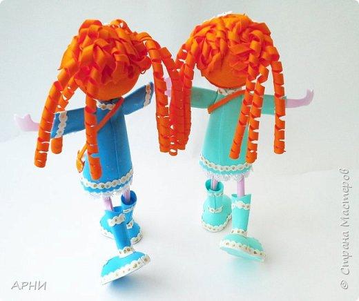 "Куклы "" Рыжее Счастье"" фото 3"
