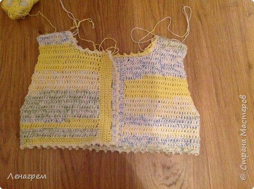 Здравствуй, страна! В подарок подружке из Страны Мастеров создалось платье для ее доченьки. Платье детское на 3 года,в работе использовались нитки хлопчатобумажные, ткань льняная. Вот что получилось в результате работы: фото 5