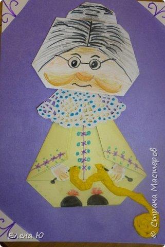 Предлагаю приготовить вместе с детьми такую вот открытку  любимой бабушке на День пожилого человека  фото 27