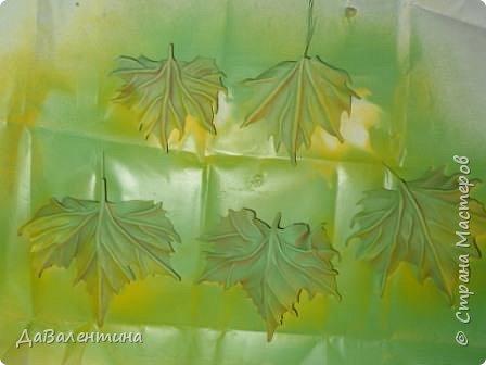 Картина панно рисунок Мастер-класс Праздник осени Ассамбляж Картина из кожи Осенний Париж  Мастер-класс Кожа фото 38