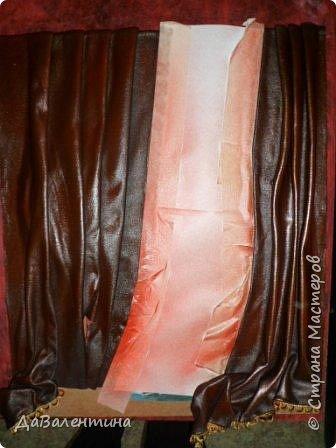 Картина панно рисунок Мастер-класс Праздник осени Ассамбляж Картина из кожи Осенний Париж  Мастер-класс Кожа фото 59