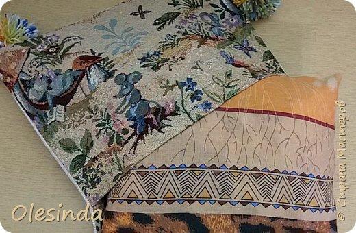 Интерьер Мастер-класс Шитьё Как сделать подушку Ткань фото 57