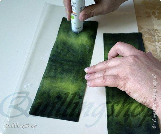 Картина панно рисунок Мастер-класс Бумагопластика Квиллинг Картина Яркие краски уходящего лета + МК Бумага Бумажные полосы фото 6