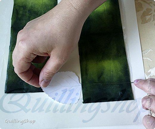 Картина панно рисунок Мастер-класс Бумагопластика Квиллинг Картина Яркие краски уходящего лета + МК Бумага Бумажные полосы фото 8