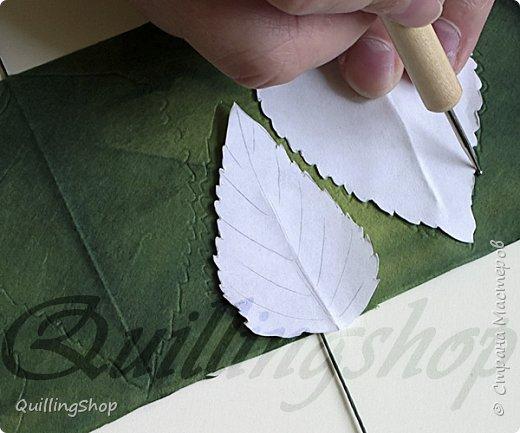 Картина панно рисунок Мастер-класс Бумагопластика Квиллинг Картина Яркие краски уходящего лета + МК Бумага Бумажные полосы фото 12