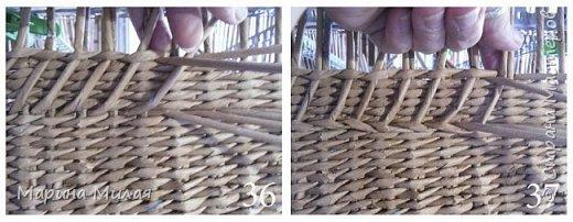 Мастер-класс Поделка изделие Плетение Опять большооое и мобильное Маленький МК Трубочки бумажные фото 15
