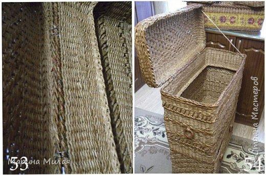 Мастер-класс Поделка изделие Плетение Опять большооое и мобильное Маленький МК Трубочки бумажные фото 24