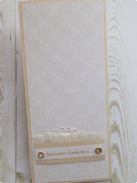 Парочка пятничных творений.  Бумага Эпоха невинности Galeria Papieru. Это самый сочный дизайн из шести предложенных набором. Бледноватая коллекция( минус), но симпатичная:) Одно название чего стоит! К свадебным открыткам самое то:) фото 5