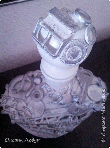 Бело-серебряный стимпанк. фото 3