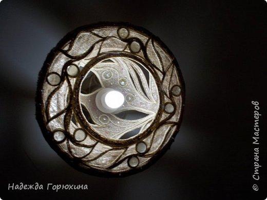 """Предыдущая работа в действии. Комната небольшая. Предусмотрено четыре лампы. Две из них вот такие будут освещать """"зону"""" кухни. Две другие в разработке.... Они будут другого формата. Как только, так сразу)))..... фото 2"""