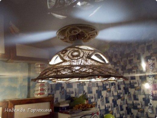 """Предыдущая работа в действии. Комната небольшая. Предусмотрено четыре лампы. Две из них вот такие будут освещать """"зону"""" кухни. Две другие в разработке.... Они будут другого формата. Как только, так сразу)))..... фото 1"""