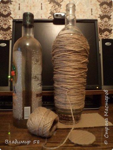 Амфора из бутылки. фото 2