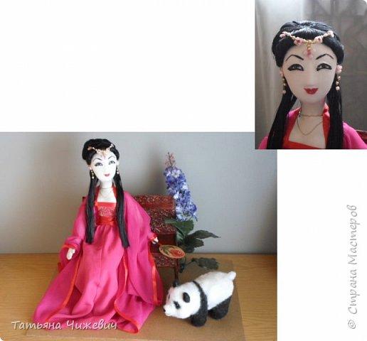 Китаянка с пандой фото 1