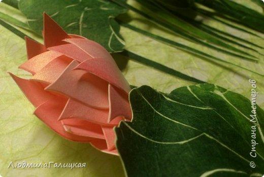 И снова- удивительный  цветок  лотоса! Наступила  осень, дни стали короче, солнышка  все  меньше. И вот в такие ненастные дни и   родился этот волшебный LED- светильник, дарящий мудрость и позволяющий взглянуть  вглубь  себя.  фото 2