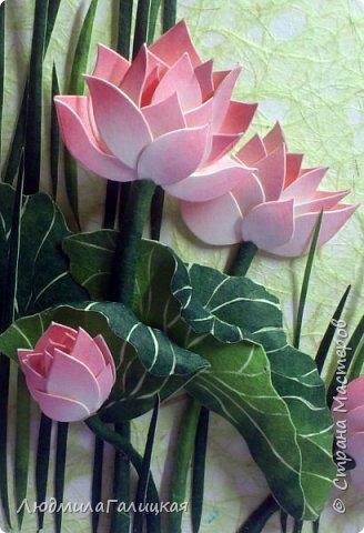 И снова- удивительный  цветок  лотоса! Наступила  осень, дни стали короче, солнышка  все  меньше. И вот в такие ненастные дни и   родился этот волшебный LED- светильник, дарящий мудрость и позволяющий взглянуть  вглубь  себя.  фото 1