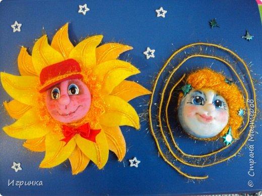 Здравствуйте друзья! На вебинаре в СМ Елена Аулова проводила МК по солнышку в технике структурного  текстиля. И хотя эта техника мне не близка, уж очень мне понравились её светила. Решила тоже попробовать сделать.  фото 1