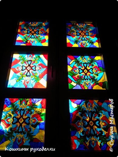Витражное окно