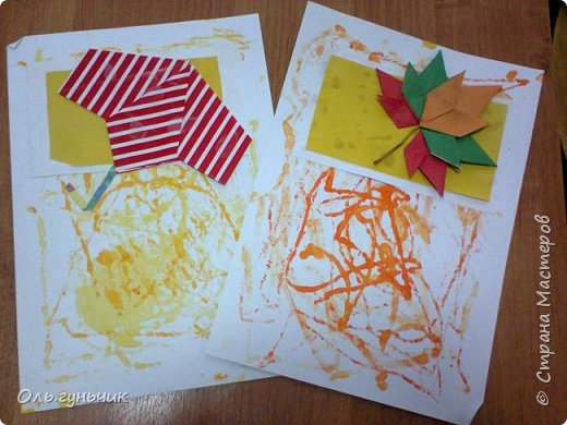 Всем здравствуйте! Продолжаю показывать работы своих учеников, это 3 класс. Спасибо большое за идею Голубке: https://stranamasterov.ru/node/439397  Вот такие у нас получаются календарики))) Это осенние месяца моего сына Вовы... фото 2