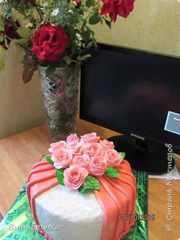 Тортик из мастики фото 2