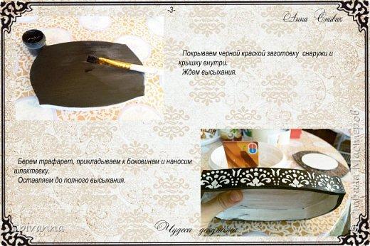 Декор предметов Мастер-класс Декупаж Мастер-класс Шкатулка Мэрилин  фото 4