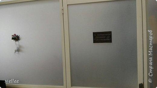 """Добрый день, жители страны мастеров! Вот такую табличку на дверь кабинета я сделала. Текст таблички взяла с сайта http://dcpg.ru/blogs/16876/. Для текста и декора использовала чипборды. В Новосибирске брала их в магазине """"Леонардо"""". Идея декора моя. фото 10"""