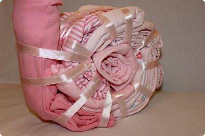 Мастер-класс Упаковка День рождения Моделирование конструирование Подарок новорожденной Улитка из детской одежды фото 11