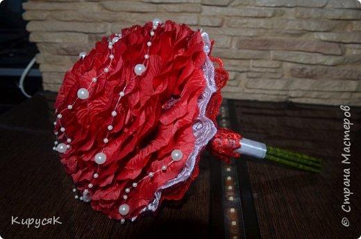 Мастер-класс Флористика искусственная Свадьба Моделирование конструирование Гламелия из искусственных лепестков  МК Бусины Клей фото 1