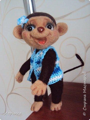 Здравствуйте друзья! Представляю Вам своих новых друзей - мишутку Ксюшеньку и обезьянку (с именем пока не определилась).  фото 6