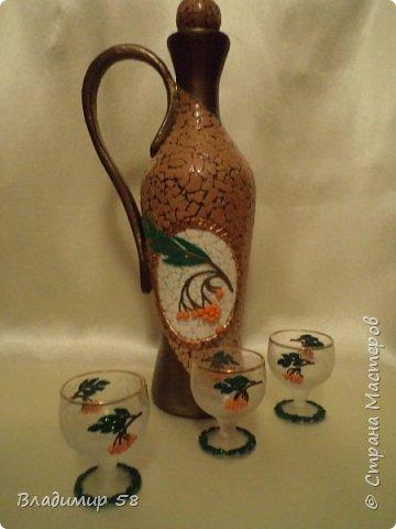 Кувшин из простой бутылки. фото 6