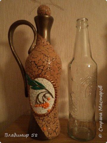 Кувшин из простой бутылки. фото 7