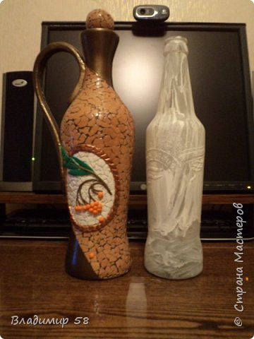 Кувшин из простой бутылки. фото 8