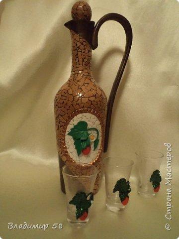 Кувшин из простой бутылки. фото 4
