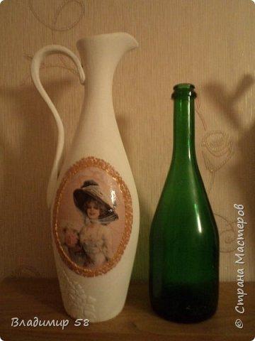 Кувшин из простой бутылки. фото 3