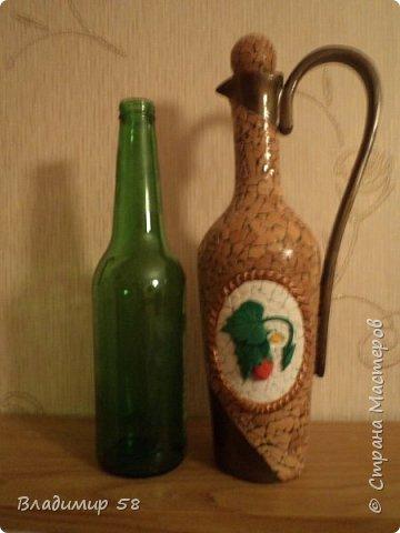 Кувшин из простой бутылки. фото 5