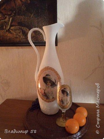 Кувшин из простой бутылки. фото 1