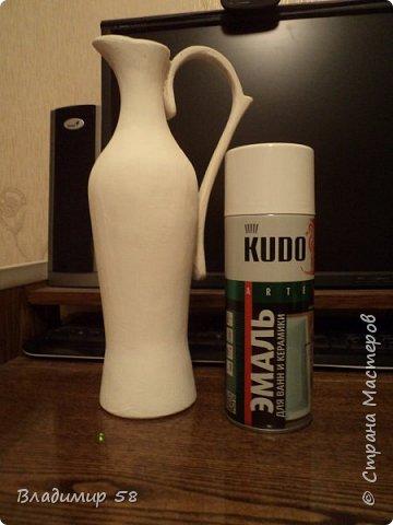 Кувшин из простой бутылки. фото 23