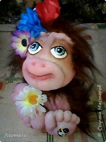 Привет всем жителям СМ! Я как и все приготовила тоже обезьянок. Вот они какие получились. Женщин часто сравнивают с обезьянами. И ласковые прозвища дают. Поэтому у меня первая РОЗОЧКА. фото 10