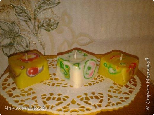это резные свечи фото 4