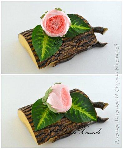 Мастер-класс Свит-дизайн Моделирование конструирование МК розы остинки Бумага гофрированная фото 10