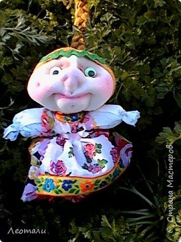 авторская кукла Счастье. По мативам кукол мотанок. фото 2