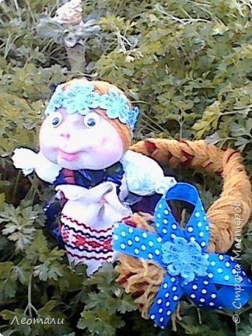 авторская кукла Счастье. По мативам кукол мотанок. фото 1
