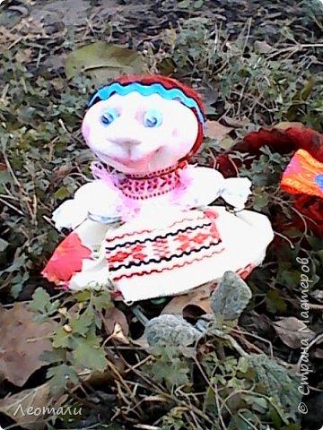 авторская кукла Счастье. По мативам кукол мотанок. фото 3