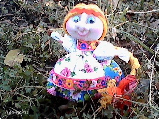 авторская кукла Счастье. По мативам кукол мотанок. фото 4