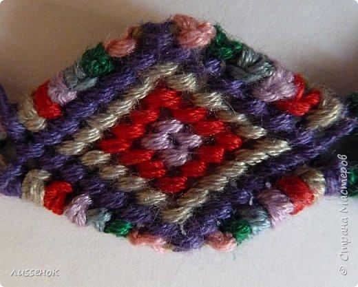 Хорошего всем настроения жители Страны Мастеров! Сегодня я хочу рассказать о плетении классической фенечки - конфетки из 16 нитей. фото 1